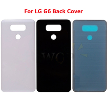 for LG G6 Glass Battery Back Cover Rear Cover Housing Door for LG G6 H870 H871 H872 H873 H870K LS993 US997 VS988 Repair Parts