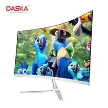 Computer-Display-Screen Lcd Monitor Gaming-Game Competition Curved DASKA HDMI/VGA Full-Hdd