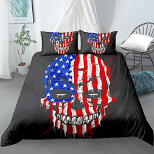 American Flag Printed 2/3Pcs Duvet Cover and Pillowcase Bedding Sets Comforter Cover Duvet Cover Set Home Textiles Bedroom Decor mxdfafa anime pokemon duvet cover set cartoon bedding sets luxury duvet cover sets 3pcs include 1 duvet cover and 2 pillow case