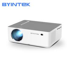 BYINTEK K20 300 cala Full HD 1080P 3D kino domowe gra LED wideo inteligentny Android projektor Wifi Beamer dla 4K kino biurowe tanie tanio Instrukcja Korekta CN (pochodzenie) Projektor cyfrowy 16 09 150W Brak 500 ANSI lumens System multimedialny 1920x1080 dpi