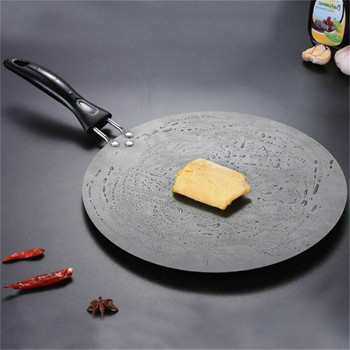 TTLIFE 30cm Kitchen Griddle Pan Non-stick Grill Cast Iron Omelet Crepe Round Cookware Pancake Pan 1