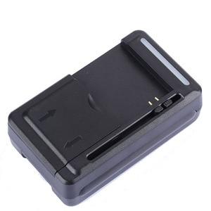 "Image 5 - אוניברסלי נייד סוללה ארה""ב/האיחוד האירופי תקע מטען מתאם עם LCD מחוון מסך עבור טלפונים סלולריים USB יציאת עמיד ו חסין אש"