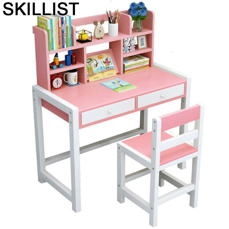 Desk Tavolo Per Bambini Mesinha De Estudio Child Children And Chair Pupitre Adjustable Kinder Mesa Infantil For Study Kids Table