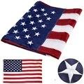 90*150 см Открытый флаг США водонепроницаемый нейлон вышитые звезды сшитые полосы латунные втулки американские флаги и баннеры
