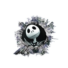 Interesting car sticker 3d skull glass slag accessories animal