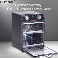 SM 220 Sterilizer Box Certificate Warranty Factory Outlet High Temperature Sterilizing Manicure Dry Heat Machine Nail Art Tools