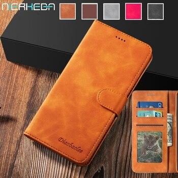 Funda de piel para Samsung Galaxy Note10 9 S20 Ultra S10 S9 S8 Plus A80 A70 A50 A40 A30 S A20 E A10 A7 A8 Plus A51 A71, tarjetero