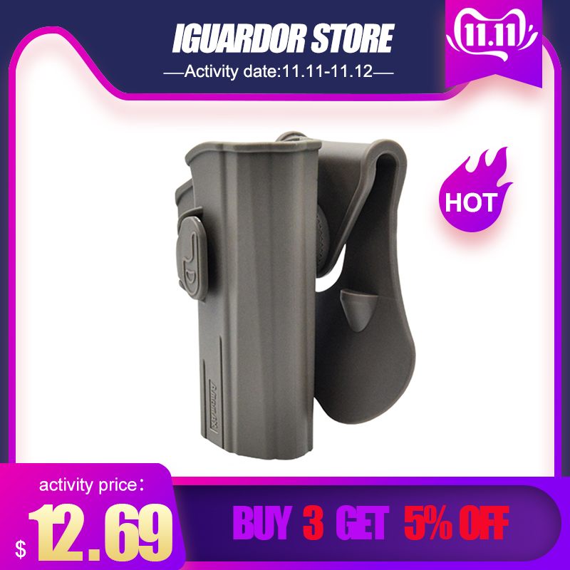 Amomax Adjustable Hunting Tactical Leg Holster For CZ P-07 CZ P-09 Airsoft Outdoor Shooting Accessories 2019 Summer-Right-handed