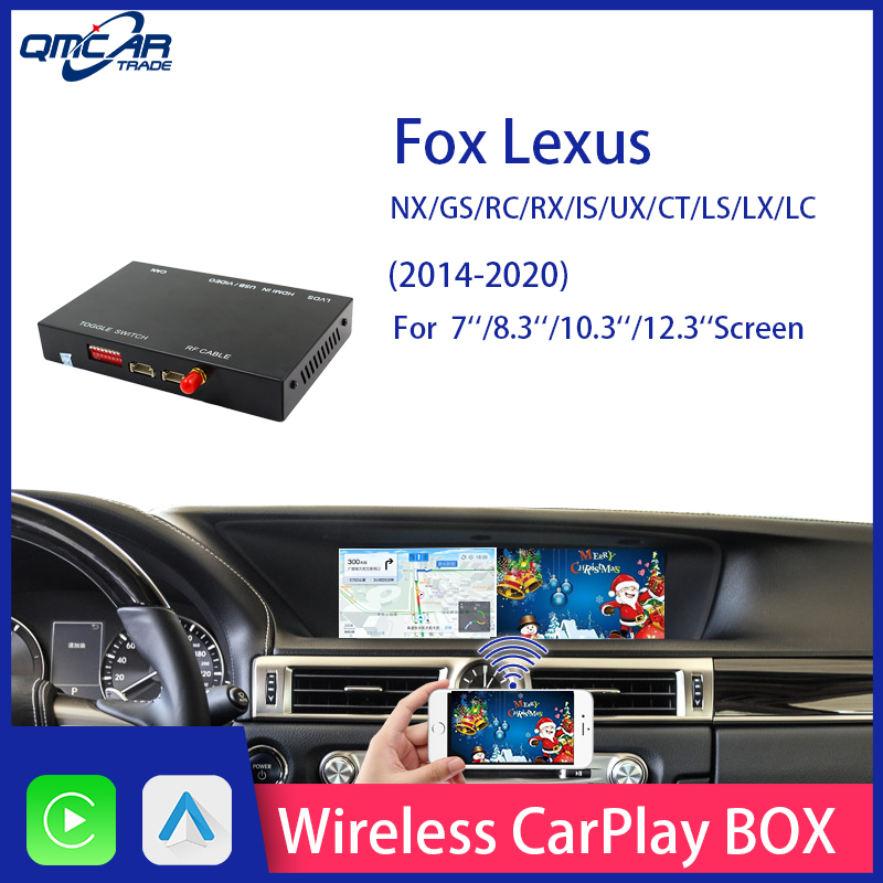 Wireless Apple carlik CarPlay for 2014-2019 For Lexus Carplay Android Auto /Carplay Support Mirrorlink Multimedia player image
