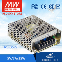 цена на friendly MEAN WELL 12Pack RS-35-5 5V 7A meanwell RS-35 5V 35W Single Output Switching Power Supply