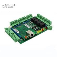 TCP/IP четырехдверная панель управления доступом с емкостью карты 30000 с системой контроля доступа Wiegand WG