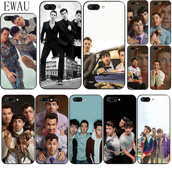 EWAU Jonas Brothers Silicone phone case for Huawei Honor 6A 7X 8A 8X 8C 8 9 Note 10 Lite view 20 20S V30 30 9X pro image