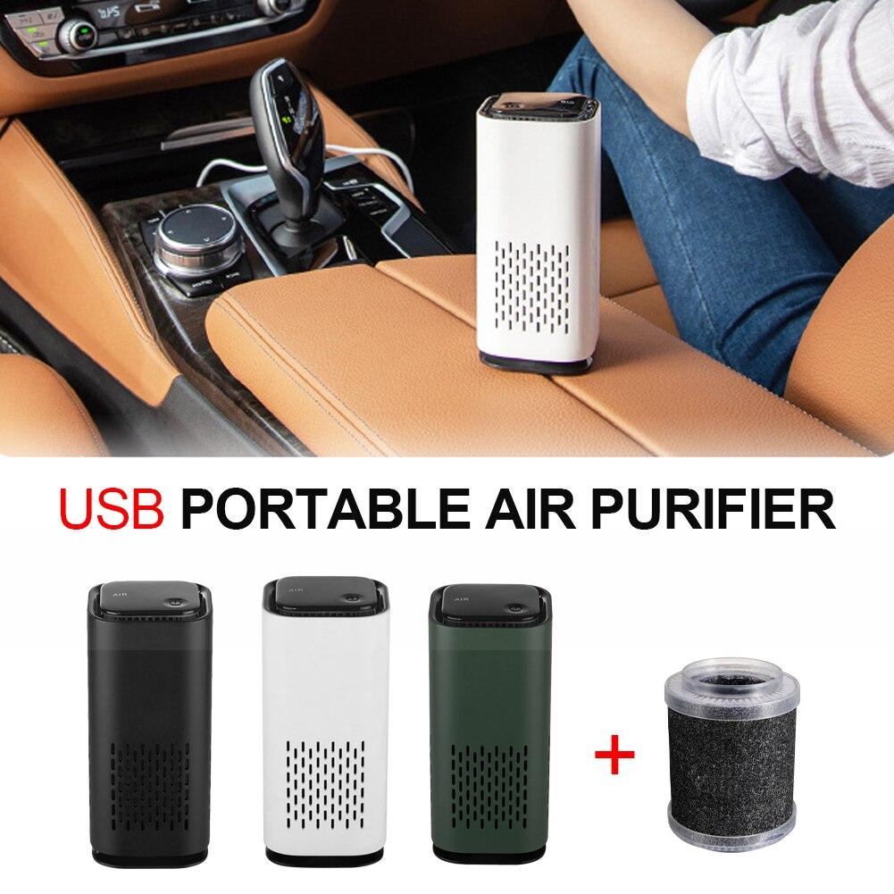 Новое обновление автомобиля Воздухоочистители воздуха очиститель отрицательных ионов USB Мини проектор для домашнего автомобиля воздухооч...