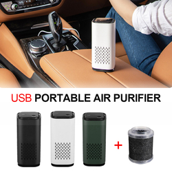 New Upgrade Car Air Purifier Cleaner Negative Ion USB Mini Home Vehicle Air Cleaner Remove Formaldehyde Air Purifier Wholesale
