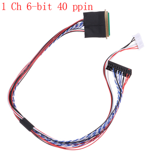 I-PEX 20453-20455 30pin 1ch 6 bit LVDS Cable For 9.7