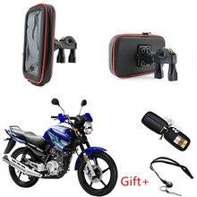 Водонепроницаемый велосипедный телефон 360 Вращающийся держатель для скутера мотоцикла держатель для телефона Подставка для руля Сумка Чехол Soporte Movil Moto для gps