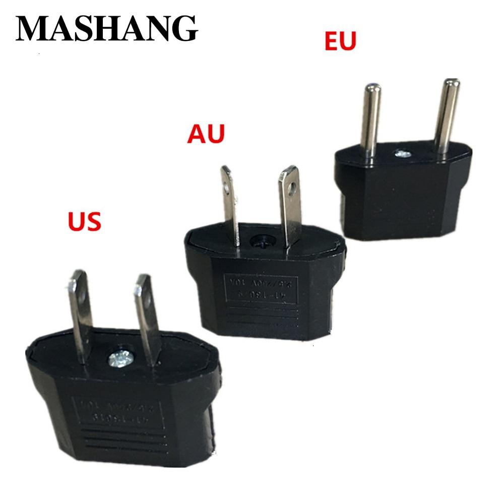 1PCS GM United States United Kingdom AU To EU Plug US Europe Travel Plug AC Socket Adapter Converter Socket