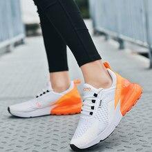 270 zapatos para correr de Mujer Zapatos Deportivos transpirables para exterior de moda para mujeres de encaje zapatos casuales de confort 270 Zapatillas de deporte Zapatillas