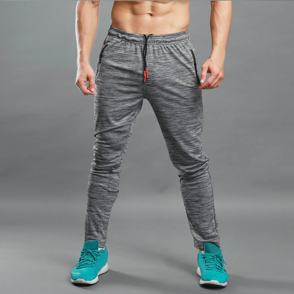 Men's Pants Fitness Trainning Exercise Autumn Winter Warm Sprot Pocket senderismo Gymnastic