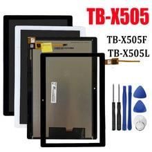 Écran LCD x505 de 10.1 pouces pour Lenovo Tab M10 TB-X505F TB-X505L TB-X505X avec outils