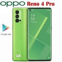 Offizielle Original Oppo Reno 4 Pro 5G Handy Snapdragon 765G Octa Core 6.5 ''90Hz AMOLED 48MP 4000Mah 65W SupperVOOC 2,0 NFC