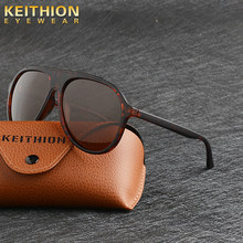 KEITHION Sunglasses Men Polarized brand Design Sun glases 2019 sunglases lunette soleil homme oculos de sol masculino aviador(China)