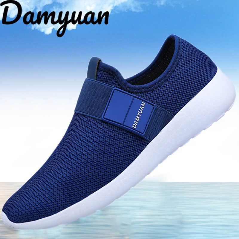 2019 yeni gündelik erkek ayakkabısı erkek spor ayakkabı koşu ayakkabıları hafif ucuz büyük boy rahat nefes ayakkabı