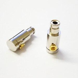 Image 3 - 2pcs מתכת באוזן אוזניות פגז מקרה 6mm רמקול יחידה מאוזן אבזור נהגים DIY עם MMCX תקע אוזניות דיור