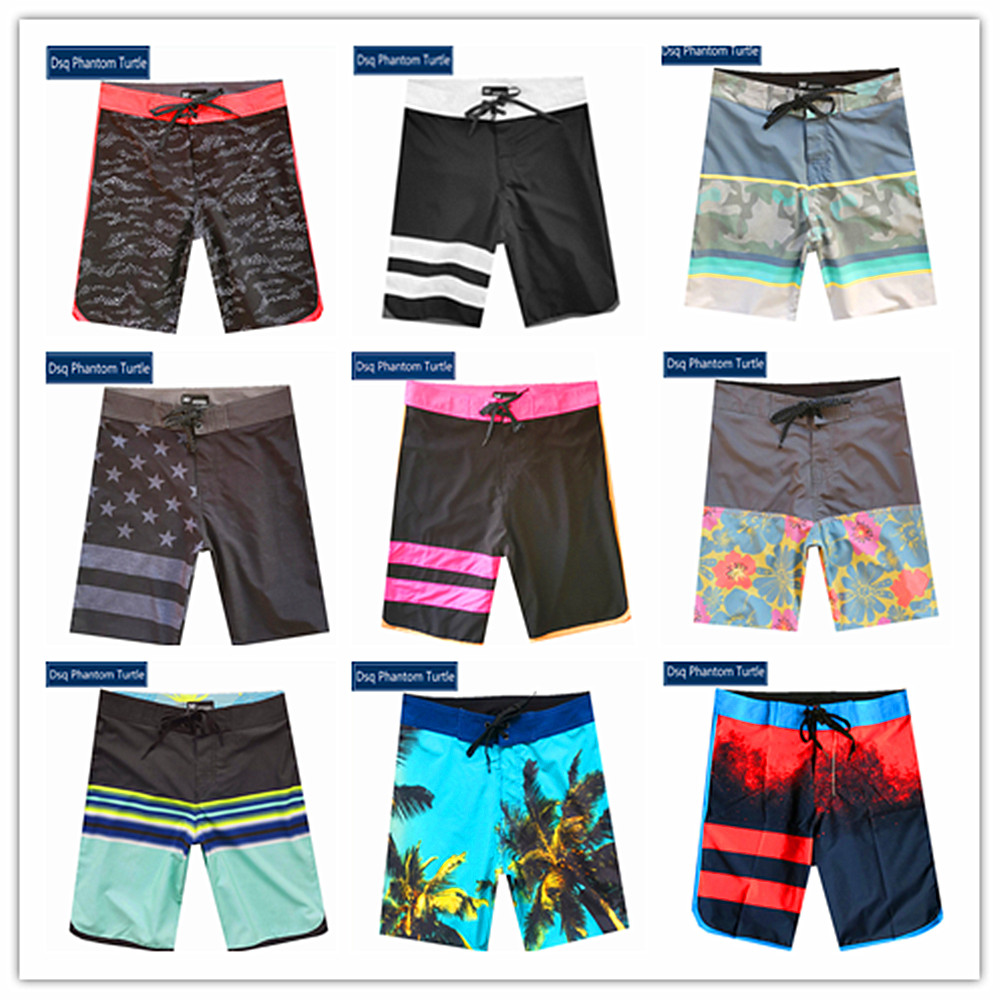 2020 Bermuda Brand Dsq Phantom Turtle Beach Man Boardshorts Mens Swimwear Spandex Elastic Lovers Swimtrunks 100% Quick Dry 30-38