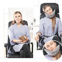 Поддержка шеи ing путешествия подвесная Подушка Спящая Подушка самолет Nap голова подбородок поддержка обертывание
