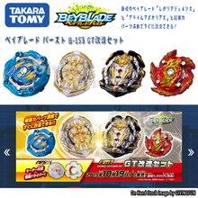 Подлинная Takara Tomy Beyblade Burst GT B153 взрывной гироскоп четыре набора игрушек Арена Металл Бог Fafnir волчок Bey Blade лезвия игрушки