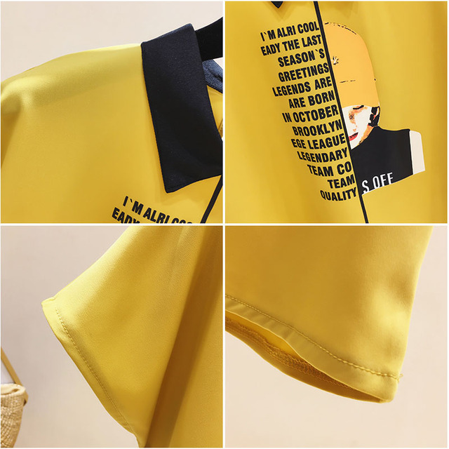 Womens For Blouses 2021 Ladies Tops Chiffon Blouse Short Blusas Feminina Shirts Batwing Sleeve Print Button Korean Clothing 0133 6