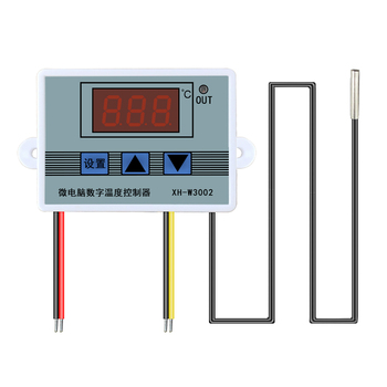 XH-W3002 110-220V Digital LED Temperature Controller 10A Thermostat Control Switch Probe with waterproof sensor Microcomputer w88 12v 220v 10a digital led temperature controller thermostat control switch sensor 2019