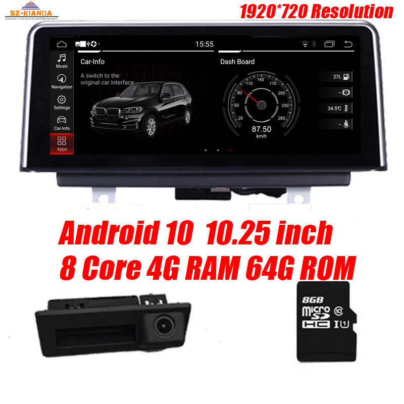 "10.25 ""8 Core Android 10.0 di GPS Radio di Navigazione per BMW X5 E70 (2007-2013) BMW X6 E71(2007-2014) di Intelligenza Car Multimedia"