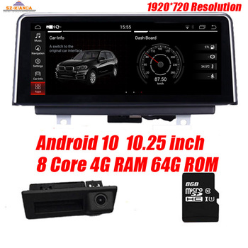 10.25 8 Core Android 10.0 Car Radio GPS Navigation for BMW X5 E70 (2007-2013) BMW X6 E71(2007-2014) Intelligence Car Multimedia