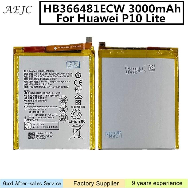 BATTERIA ORIGINALE HUAWEI 3000mah HB366481ECW Per P10 LITE WAS-LX1A WAS-LX1