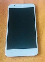 Sử dụng Ban Đầu màn hình Cảm Ứng + MÀN HÌNH hiển thị LCD + Khung cho OUKITEL U7 Max miễn phí vận chuyển