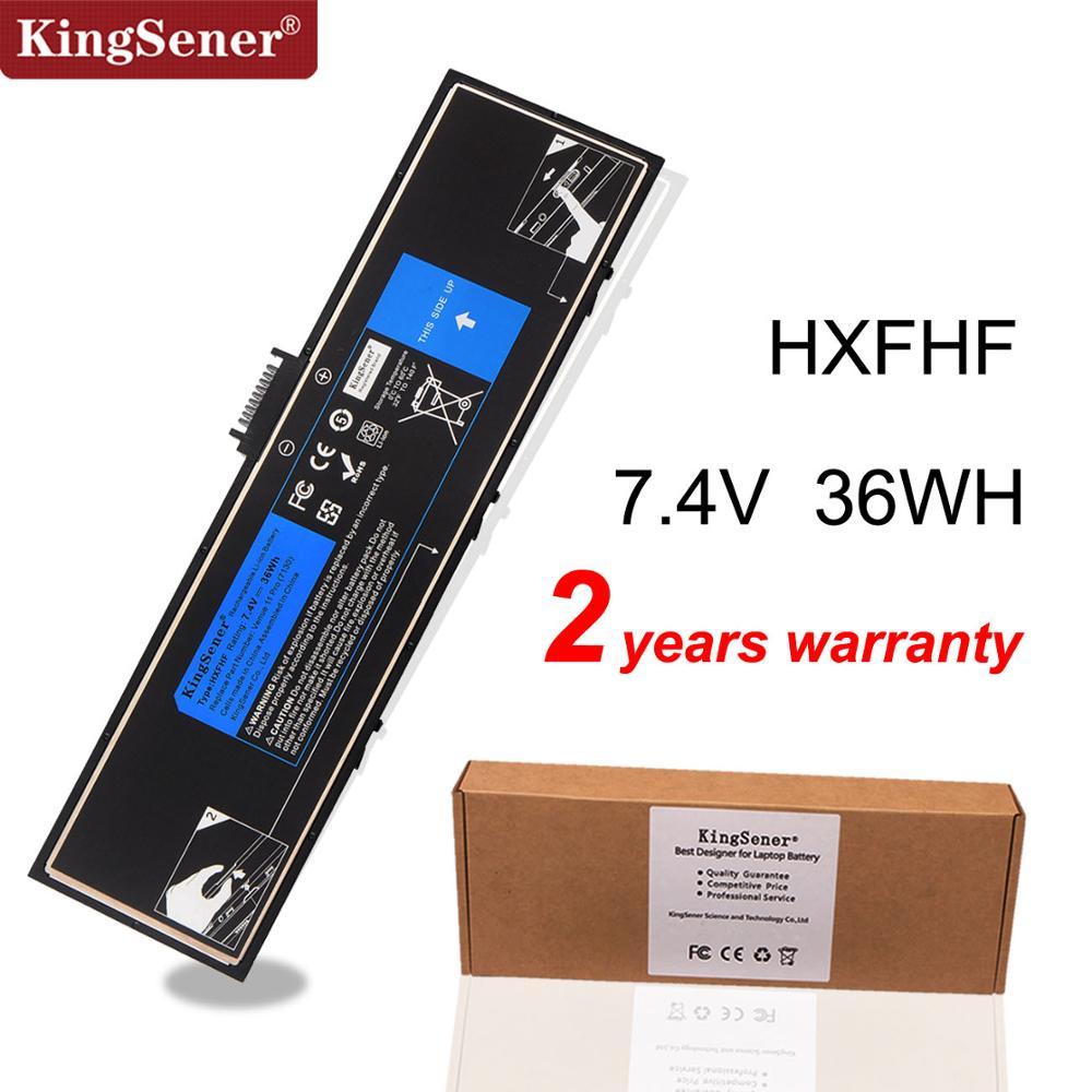 KingSener New HXFHF Laptop Battery For Venue 11 Pro (7130) 11 Pro (7139) 11 Pro 7310 HXFHF VJF0X 7.4V 36WH Free 2 Years Warranty
