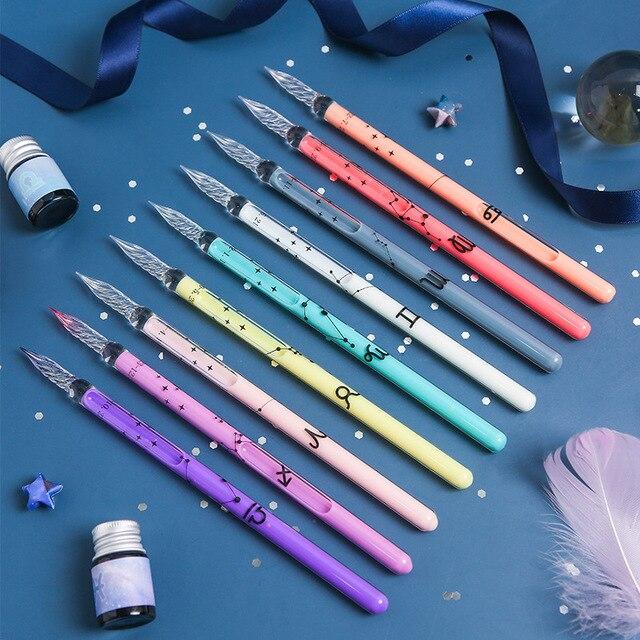 Zodiac Glass Dip Pen 2