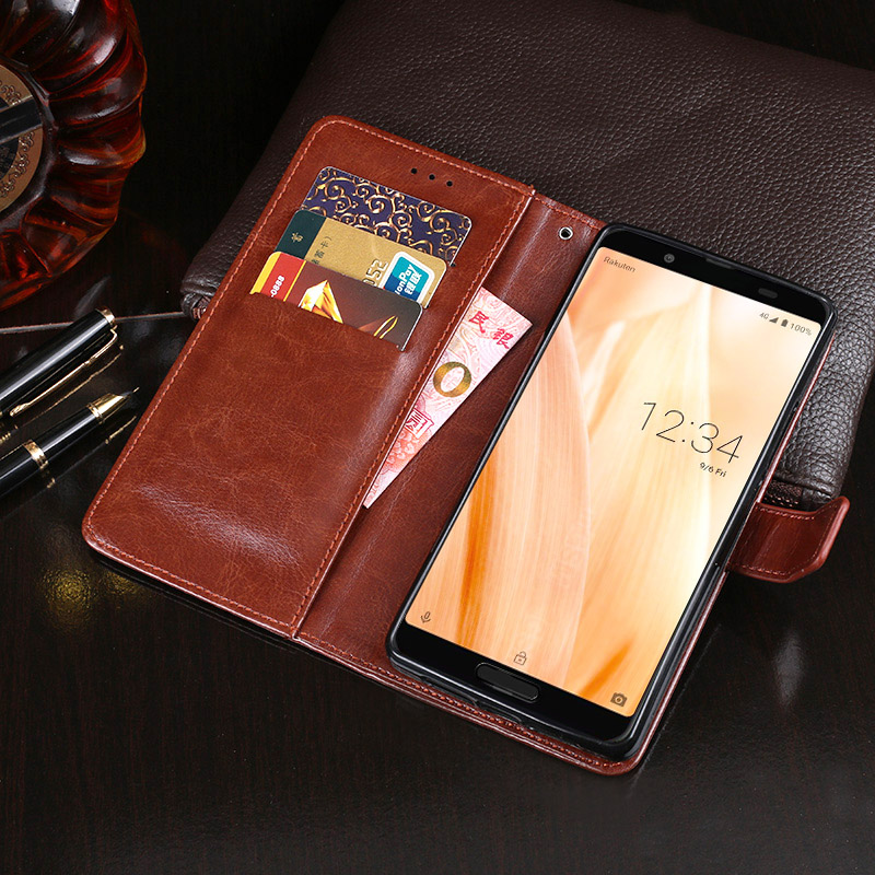 For Sharp Aquos Sense 3 Lite Case Wallet Flip Business Leather Fundas Phone Case for Sharp Aquos Sense 3 Lite Cover Accessories