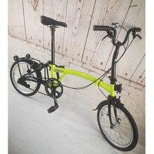 3SIXTY, хромированный стальной складной велосипед, 16 дюймов, 349, большой размер, велосипед с суппортом, тормоза, мини, задняя стойка, внутренняя, 3, 5 скоростей, складные велосипеды