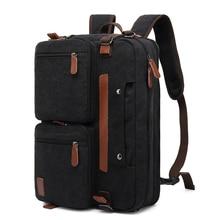 """Coolbell erkekler sırt çantası su geçirmez 15 17 """"Laptop omuz sırt çantası rahat Anti Theft okul çanta nedensel hediye ofis özelleştirilmiş"""
