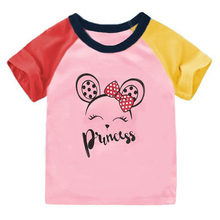 Baby Summer Tops Graphic Girls t-Shirts Boys Cotton Cartoon Dog Fashion for Tees