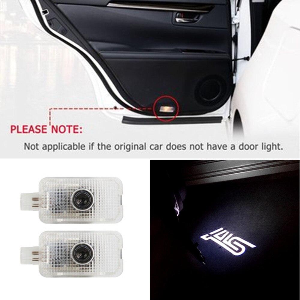 Светодиодный светильник для двери Subaru, декоративная лампа с логотипом автомобиля, аксессуары для Subaru FORESTER, OUTBACK, XV LEGACY, IMPREZA