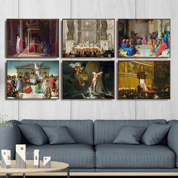 Home Decoration Art Wall Pictures Fro Living Room Poster Print Canvas Paintings French Jean-Auguste-Dominique ingres image