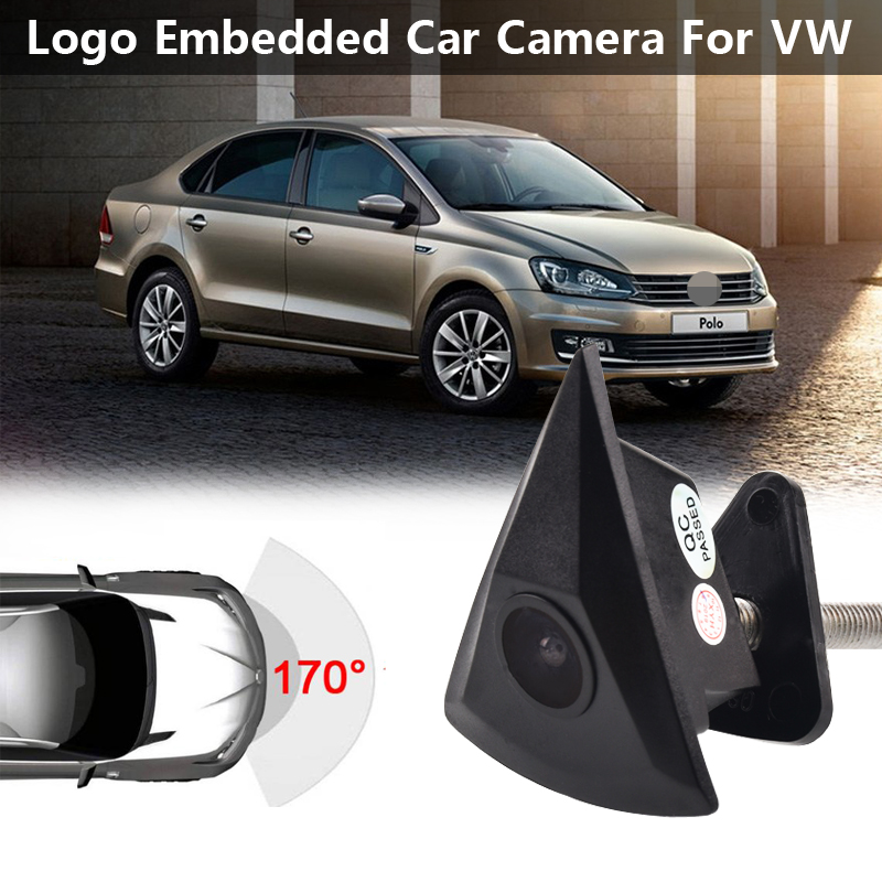 HD Car CCD Front View Camera For VW Passat B5 B6 B7 Tiguan Golf MK5 MK6 Touran Polo Sedan Beetle T4 T5 T6 Auto Parking System