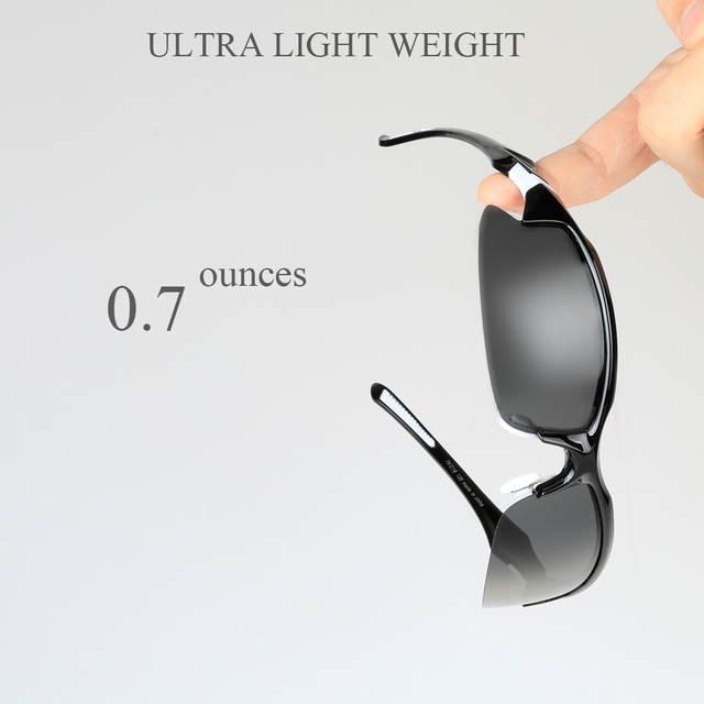 COMAXSUN profesjonalne fotochromowe spolaryzowane okulary