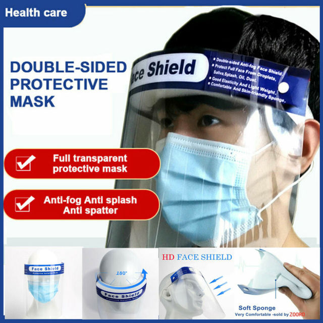 Anti Spitting Saliva Professional Clear Full-Face Shield Protection Transparent Protective Safty 1