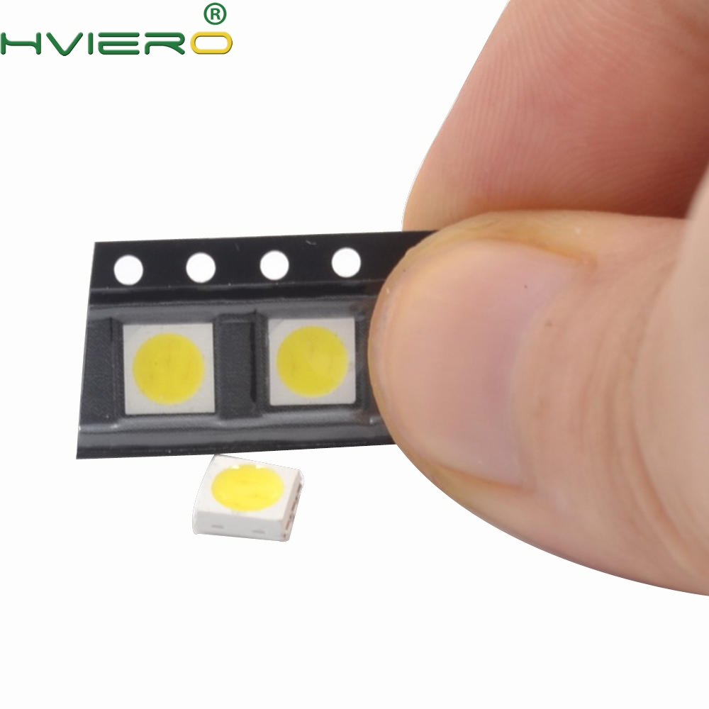 1000pcs 5050 RGB White Red Green Blue Yellow UV SMD SMT Emitting Diode LED PLCC-6 3-CHIPS Bright Lamp Light 60mA 3V Diodes