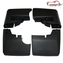 EXTERIOR MUDGUARD COVERS MUD PLAD GUARDABARROS COVER PLATE FIT FOR FJ CRUISER FJ70 FJ75 2DOOR PICKUP CAR ACCESSORIES|Mudguards| |  - AliExpress